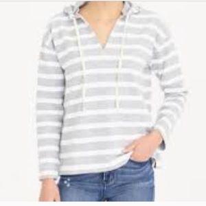 J crew factory hooded beach sweatshirt